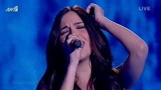 Έλενα Παπαπαναγιώτου - Δεν έχει σίδερα η καρδιά σου | The Voice of Greece - 3rd Live Show (S02E15)