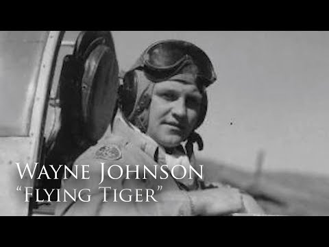 Profiles in Valor: Wayne Johnson, Flying Tiger