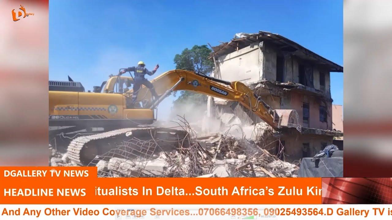 Download Estate developer landlords tackle Lagos over demolition.
