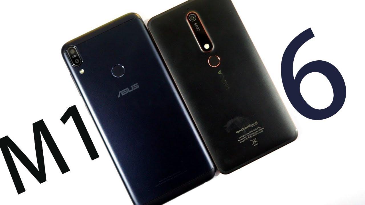 Asus Zenfone Max Pro M1 vs Nokia 6 2018 Speed Test, Memory ...