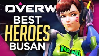 Best HEROES & TIPS for Busan (Overwatch Positioning Guide)