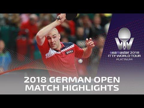 2018 German Open Highlights I Gionis Panagiotis vs Daniel Habesohn (Qual)