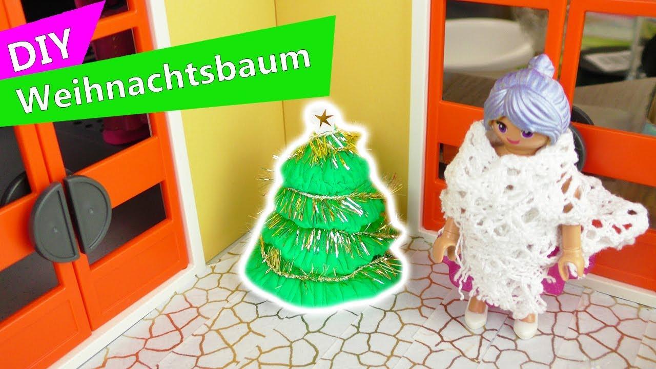 Lisas Erster Weihnachtsbaum.Playmobil Diy Weihnachts Baum Für Die Luxus Villa Stellas Christbaum Diy Advents Deko