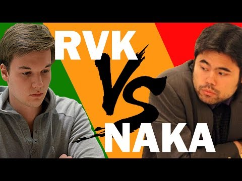 Hikaru Nakamura vs Robin van Kampen: BLITZ BATTLE