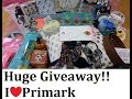 25000 subscriber GIVEAWAY!!!   | September 2016 | IlovePrimark