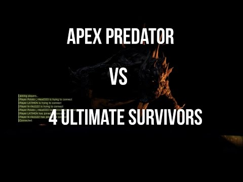 DYING LIGHT NIGHT HUNTER GAMEPLAY APEX PREDATOR vs 4 ULTIMATE SURVIVORS