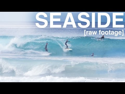 [raw footage] SEASIDE SURFING - November 20th 2106