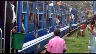 The toy train between Ooty and Coonoor