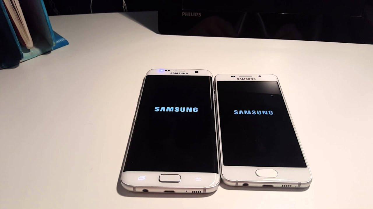 samsung galaxy s7 edge vs samsung galaxy a3 2016 which is faster fran ais youtube
