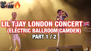 Lil Tjay London Concert Live Show (Electric Ballroom Camden) PT 1/2 @Acesiz