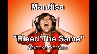 "Mandisa ""Bleed The Same"" BackDrop Christian Karaoke"