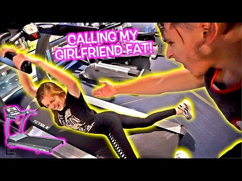 CALLING MY GIRLFRIEND FAT PRANK! **MUST WATCH**