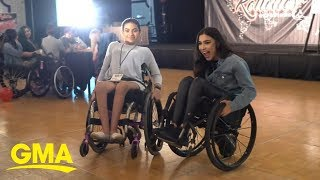 The Rollettes, a wheelchair dance team, make connections way bigger than dance | GMA Digital