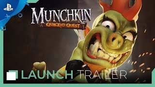 Munchkin : Quacked Quest - Launch Trailer | PS4