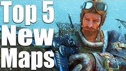 TOP 5 MAPS IN ZOMBIES CHRONICLES (Black Ops 3 Zombies DLC 5)