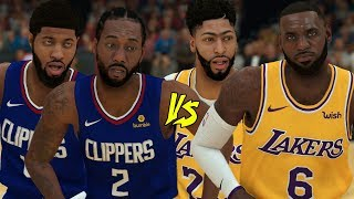 Which la duo would win in a 2v2? lakers or clippers duo?code 'smequle' for 10% off @g fuel: https://gfuel.ly/2hjrnlnthanks watching! smash the like butto...