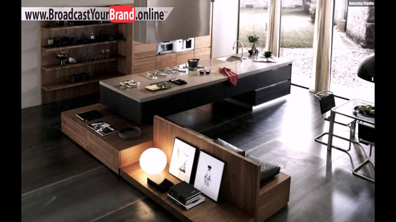 terra küche design grattarola holz edelstahl - youtube, Hause ideen