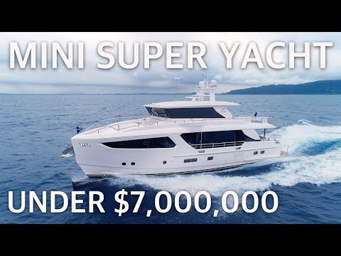 $6,800,000 HORIZON FD80 Skyline (ex-FD77) Detailed WALKTHROUGH & The SPECS (FLIBS 2019 Exclusive)