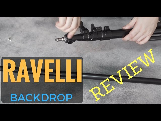 Best backdrop stand under $100 | Ravelli 10x12 Review