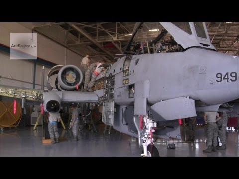 A-10 Warthog Phase Inspection
