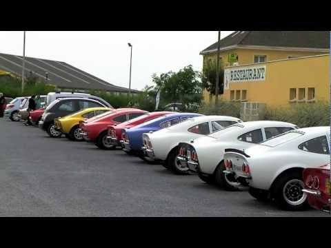 2012 xveme rassemblement entraide opel gt youtube. Black Bedroom Furniture Sets. Home Design Ideas