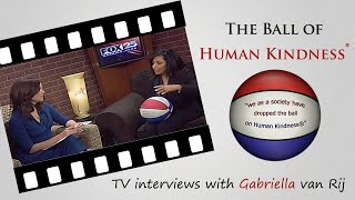 The ball of Kindness in Oklahoma City KOKH TV, Channel 25, FOX