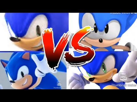 Battle Of The Four Sonic's, Who Wins And Why Analysis