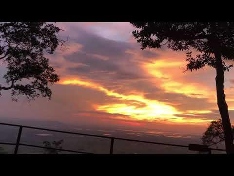 Sunrise at Phu Wiang Nation Park - Khon Kaen Thailand