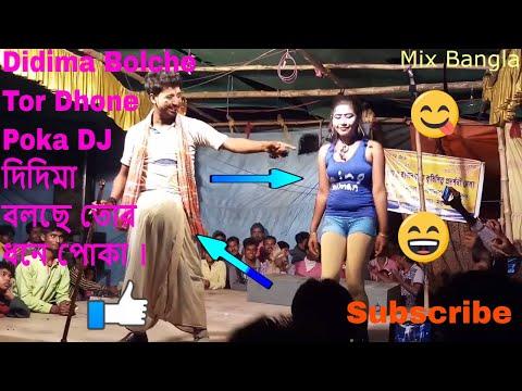 Didima Bolche Tor Dhone Poka DJ || দিদিমা বলছে তোর ধনে পোকা কমেডি ভিডিও ।