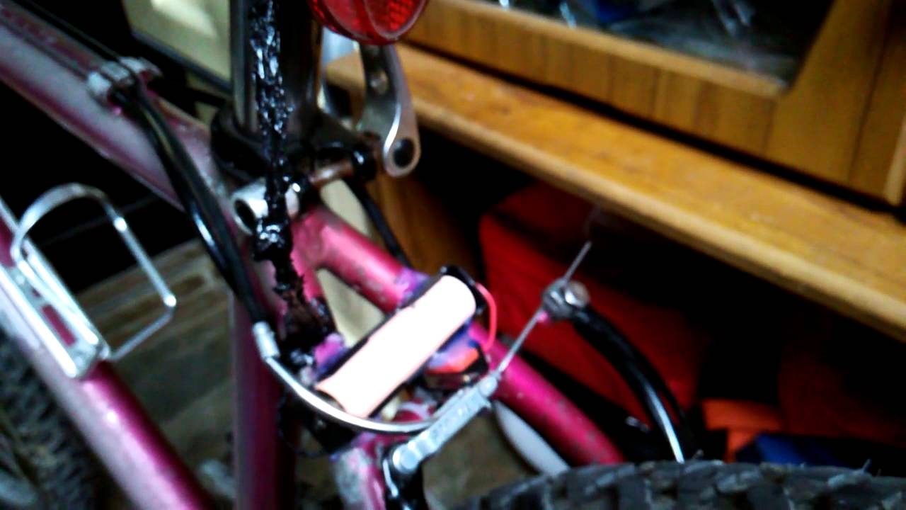 How To Make A Homemade Bike Light