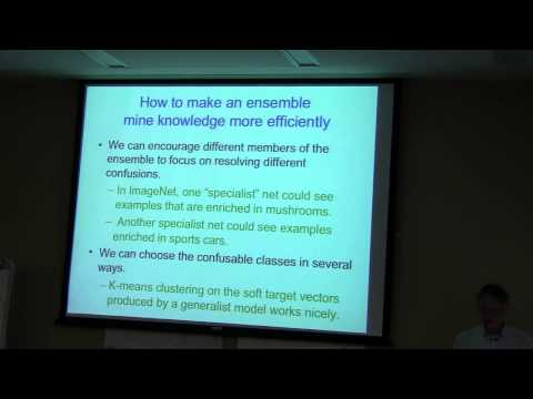 TTIC Distinguished Lecture Series - Geoffrey Hinton