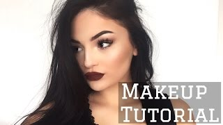 Chocolate Bronzed Makeup Tutorial