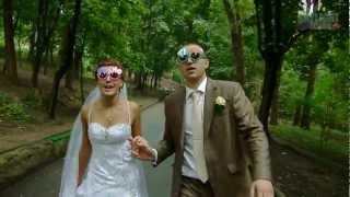 На большом воздушном шаре Андрей и Виктория www.slsvideo.com