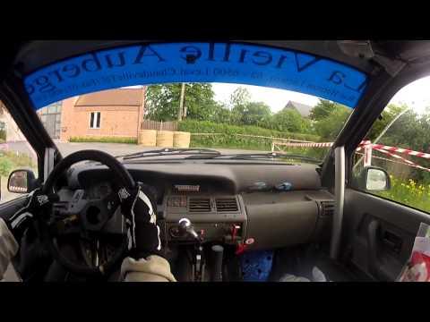 Salamandre Rallye - Asaf - Onboard Tony Clerbois / Jl Hottelet , Renault Clio Williams