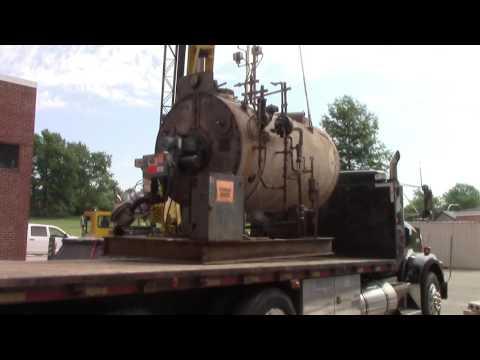 Bridgetown Middle School Boiler Removal