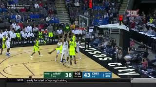 Creighton vs Baylor Men's Basketball Highlights
