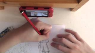 Spectrobes - Drawing Rallen and Komanoto