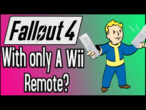 Can You Beat Fallout 4 With ONLY A Wii Remote?