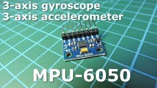 MPU-6050 - Гироскоп + акселeрометр