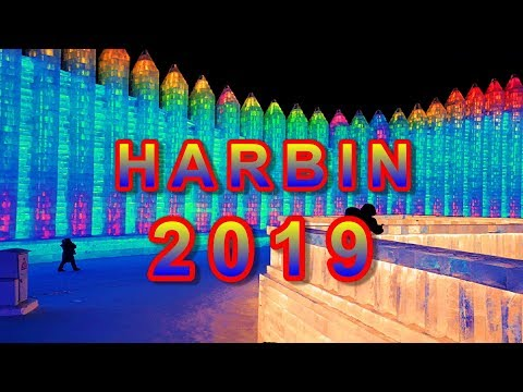 The Incredible HARBIN ICE AND SNOW WORLD 2019 (must watch!)