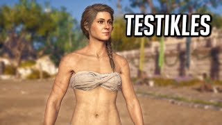 Assassin's Creed Odyssey: Kassandra Wins The Olympic Games (TESTIKLES!)