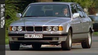1987 BMW 7 серії (Е32) | водіння, інтер'єр, екстер'єр