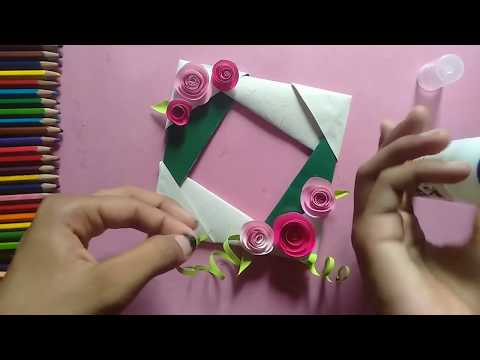 Photo frame || how to make photoframe at home || DIY at home || EASY WAY TO MAKE PHOTOFRAME