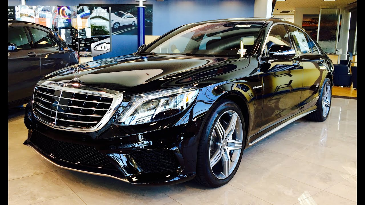 2015 mercedes benz s class: s63 amg sedan full review / walk