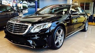 2015 Mercedes Benz S Class: S63 AMG Sedan Full Review / Walk Around