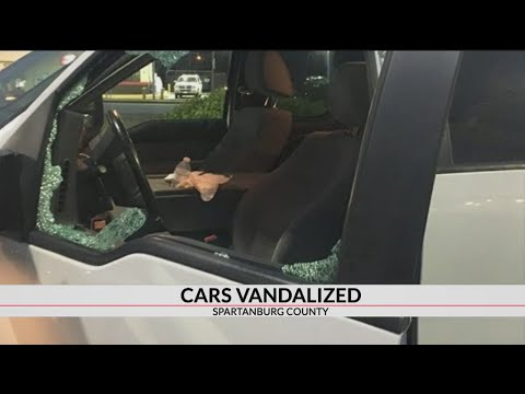 At least 2 vehicles vandalized by rocks while driving in Spartanburg Co., report says