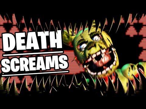 SPRINGTRAPS FINAL DEATH SCREAMS FOUND (INSANE SECRET) - Five Nights at Freddys Ultimate Custom Night