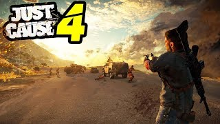 Just Cause 4 PS4 LEAKED?! - What This Means