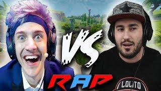 NINJA VS LOLITO FDEZ RAP EN ESPAÑOL ( 2018 ) | Mc Energy FT. Dua´s Games