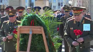 Генерал армии Валерий Герасимов и Алексей Песошин посетили казанский Парк Победы
